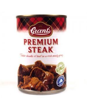 M3 Distribution Services Bulk Food Wholesale Grants Premium Steak 392g PM£2.79