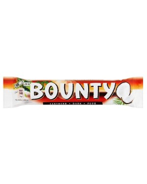 M3 Distribution Services Irish Food Wholesale Bounty Dark Twin 57g