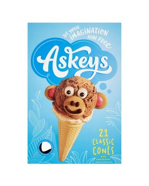 M3 Distribution Wholesale Food Askeys 21 Classic Cones