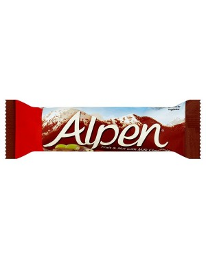 M3 Distribution Services Alpen Fruit, Nut & Chocolate Bar PM39p