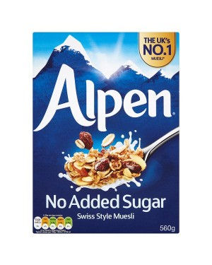 M3 Distribution Services Irish Food Wholesaler Alpen NAS Muesli 560g