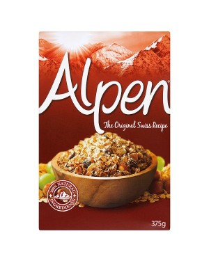 M3 Distribution Services Irish Food Wholesaler Alpen Original Muesli 375g