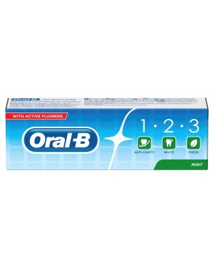 Oral B 123 Mint Toothpaste 75ml PM£1