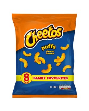 M3 Distribution Irish Wholesale Food Distributor Cheetos Puffs Cheese Flavour 8pack