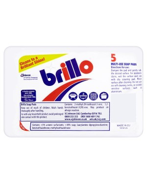 M3 Distribution Services Bulk Food Wholesaler Brillo Soap Pads 5 pack