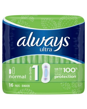 Always Ultra 16 Pads Normal