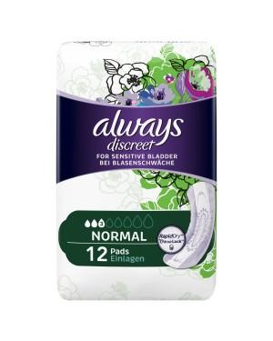 Always Discreet Normal Pads 12
