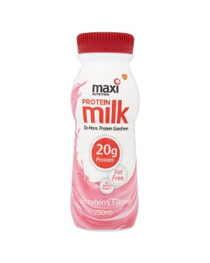 M3 Distribution Services Irish Food Wholesale Maxinutrition Rtd Protein Milk Strawberry 250ml