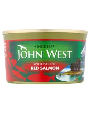 M3 Distribution Bulk Irish Wholesale Food John West Red Salmon 213g