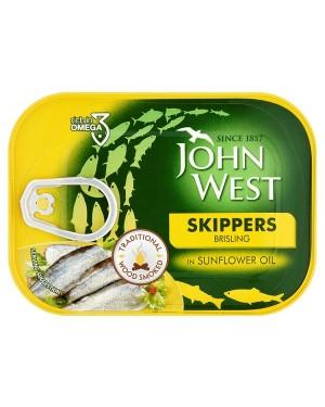 M3 Distribution Bulk Irish Wholesale Food John West Skippers in Sunflower Oil 106g