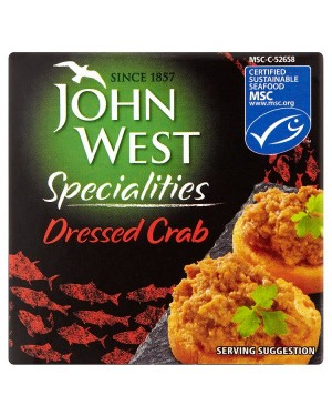 M3 Distribution Bulk Irish Wholesale Food John West Dressed Crab 43g