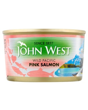 M3 Distribution Bulk Irish Wholesale Food John West Pink Salmon 213g