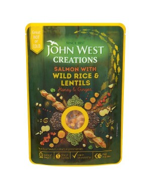 M3 Distribution Bulk Irish Wholesale Food John West Creations - Salmon with Wild Rice & Lentils