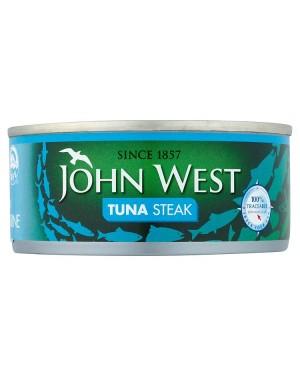 M3 Distribution Bulk Irish Wholesale Food John West Tuna Steak in Brine 160g
