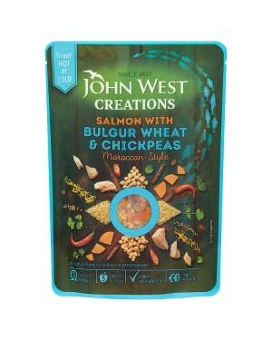 M3 Distribution Bulk Irish Wholesale Food John West Creations - Salmon with Bulgur Wheat & Chickpeas