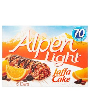 M3 Distribution Services Irish Food Wholesaler Alpen Light Jaffa Cake Cereal Bars 5pack