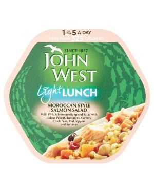 M3 Distribution Bulk Irish Wholesale Food John West Light Lunch - Moroccan Style Salmon Salad