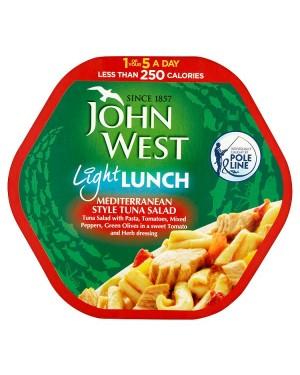 M3 Distribution Bulk Irish Wholesale Food John West Light Lunch - Mediterranean Style Tuna Salad