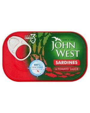 M3 Distribution Bulk Irish Wholesale Food John West Sardines in Tomato 120g