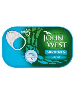 M3 Distribution Bulk Irish Wholesale Food John West Sardines in Brine 120g