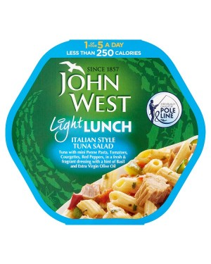 M3 Distribution Bulk Irish Wholesale Food John West Light Lunch - Italian Style Tuna Salad