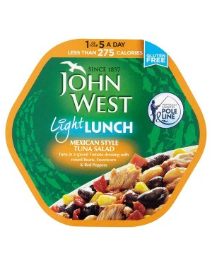 M3 Distribution Bulk Irish Wholesale Food John West Light Lunch - Mexican Style Tuna Salad