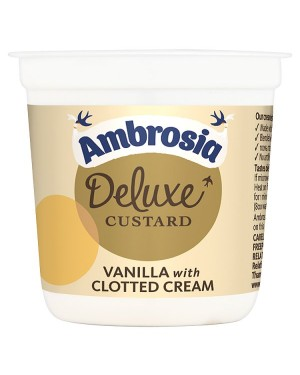 M3 Distribution Wholesale Food Ambrosia Deluxe Custard Vanilla/Clotted Cream