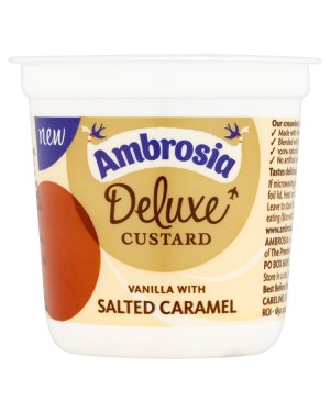 M3 Distribution Wholesale Food Ambrosia Deluxe Custard Vanilla/Salted Caramel
