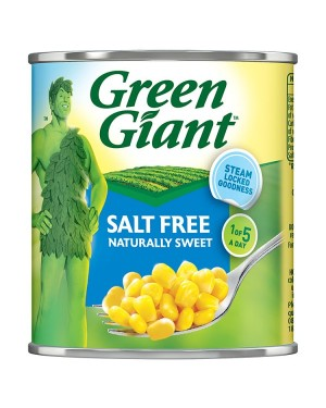 M3 Distribution Services Bulk Food Ireland Green Giant Salt Free Sweetcorn 340g