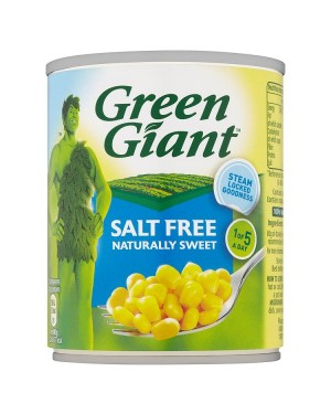 M3 Distribution Services Bulk Food Ireland Green Giant Salt Free Sweetcorn 198g