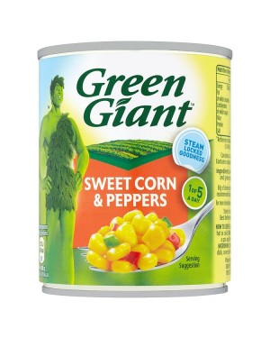 M3 Distribution Services Bulk Food Ireland Green Giant Sweetcorn with Peppers 198g