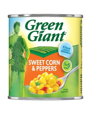 M3 Distribution Services Bulk Food Ireland Green Giant Sweetcorn with Peppers 340g