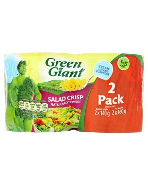 M3 Distribution Services Bulk Food Ireland Green Giant Salad Crisp Sweetcorn 150g (2pack)