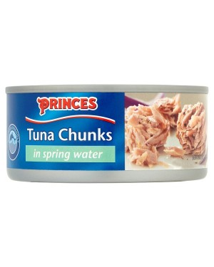 M3 Distribution Bulk Irish Wholesale Food Princes Tuna Chunks in Spring Water 160g