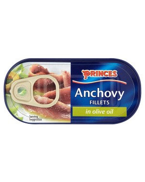 M3 Distribution Bulk Irish Wholesale Food Princes Anchovy Fillets 50g