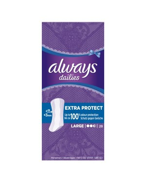 Always Dailies 28 Large Liners