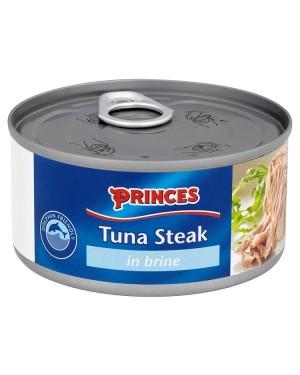 M3 Distribution Bulk Irish Wholesale Food Princes Tuna Steak in Brine 185g