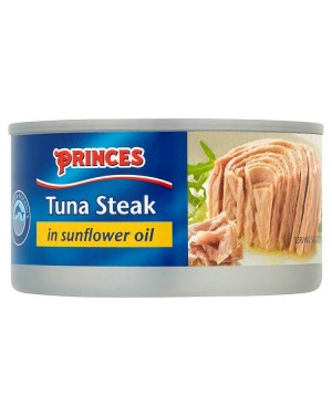 M3 Distribution Bulk Irish Wholesale Food Princes Tuna Steak in Oil 185g