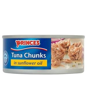 M3 Distribution Bulk Irish Wholesale Food Princes Tuna Chunks in Oil 160g