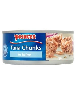 M3 Distribution Bulk Irish Wholesale Food Princes Tuna Chunks in Brine 160g