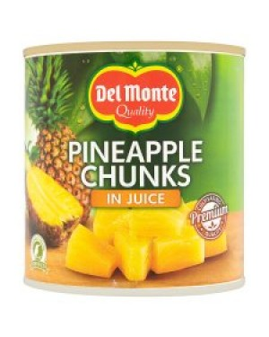 M3 Distribution Services Irish Food Wholesale Del Monte Pineapple Chunks PMÃÆÃÃâ€