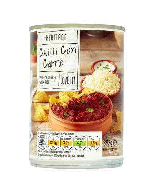 M3 Distribution Services Bulk Food Wholesale Heritage Chilli Con Carne 392g