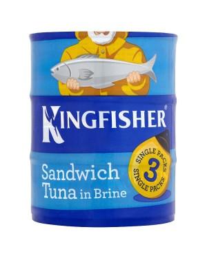 M3 Distribution Services Irish Food Wholesaler Kingfisher Tuna In Brine (6x3x160g)