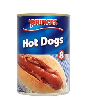M3 Distribution Services Bulk Food Wholesale Princes 8 Hot Dogs