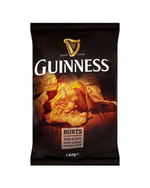 M3 Distribution Irish Wholesale Food Distributor Guinness Potato Chips 150g