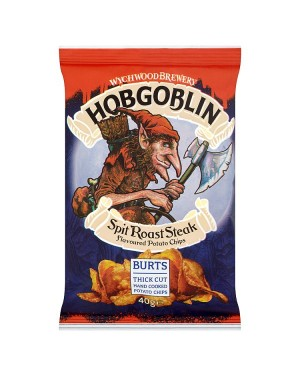 M3 Distribution Irish Wholesale Food Distributor Hobgoblin Spit Roast Steak Chips 40g