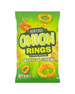 M3 Distribution Irish Wholesale Food Distributor Heritage Onion Rings 110g