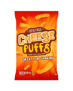 M3 Distribution Irish Wholesale Food Distributor Heritage Cheese Puffs 110g