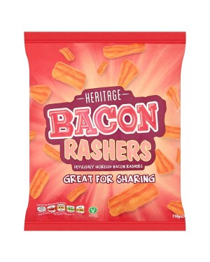M3 Distribution Irish Wholesale Food Distributor Heritage Bacon Rashers 110g