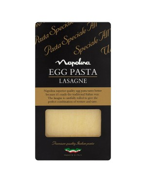 M3 Distribution Services Wholesale Food Napolina Egg Pasta Lasagne 375g